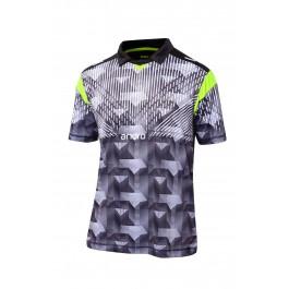 Andro Shirt Doyle black/neon yellow