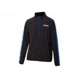 Andro T- Jacket Lennox black/blue