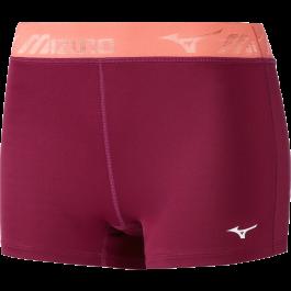 Mizuno Shorts Lady Impulse Core Tight berry