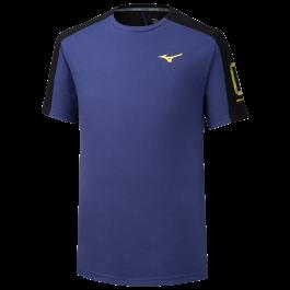 "Mizuno T-shirt Heritage Tee ""1"" purple"