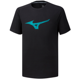 "Mizuno T-shirt Heritage Tee ""2"" black"