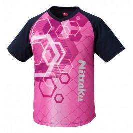 Nittaku T-shirt Sun Sun pink (2092)