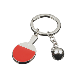 Tibhar Key ring silver bat