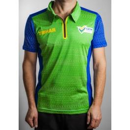 Tibhar Shirt Prime Brazil green