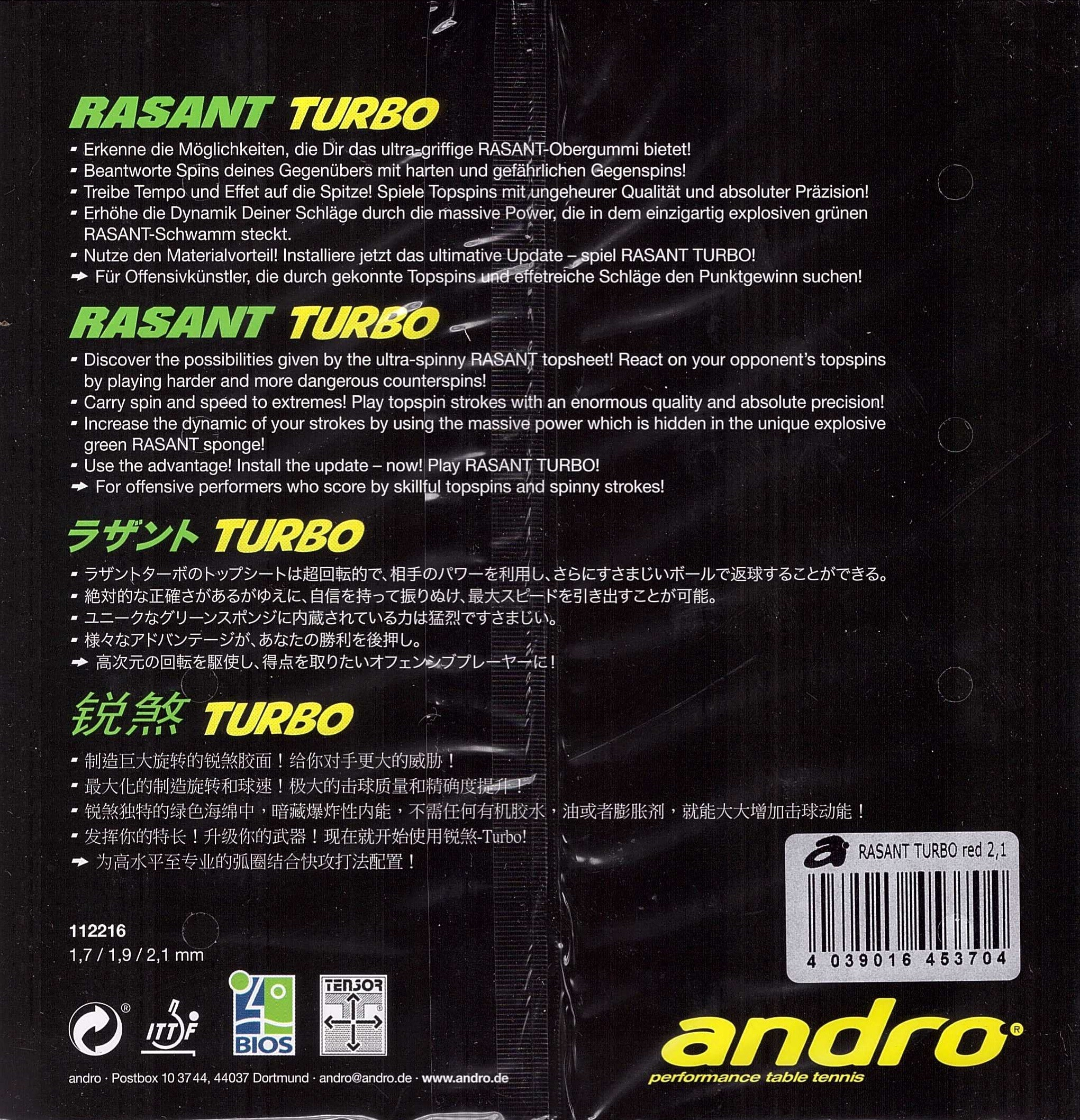 rasant rs 2205t