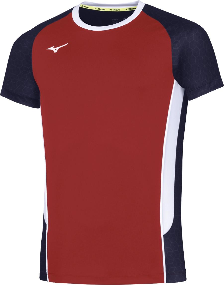 35cab21b Mizuno Shirt Premium High-Kyu red   Tabletennis11.com (TT11)