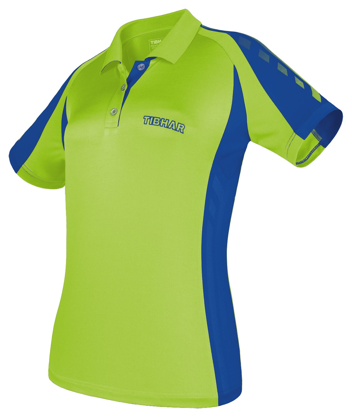 Tibhar Shirt Arrows Lady neon green/blue | Tabletennis11 ...