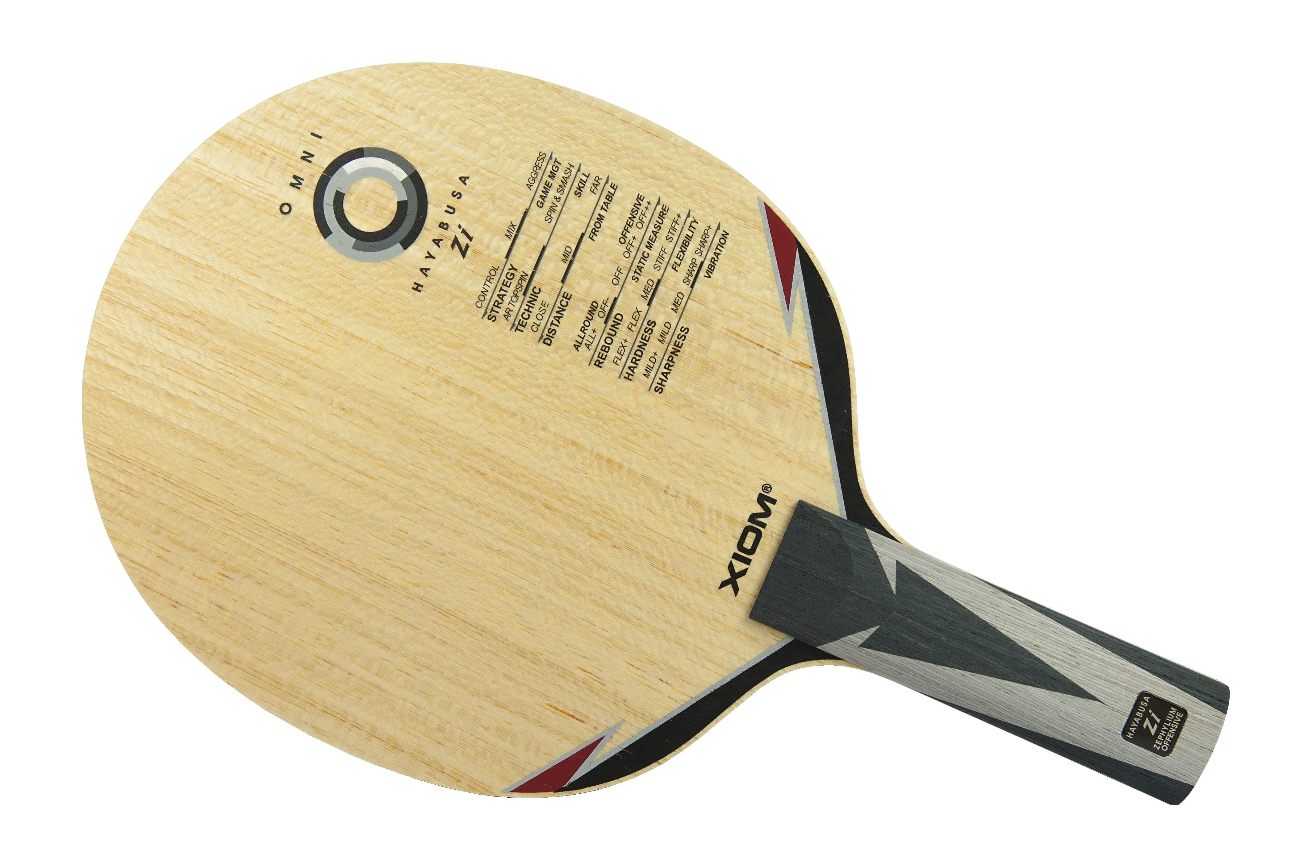 Ping Pong Racket Xiom Hayabusa Zi FL,ST Blade Table Tennis Bat