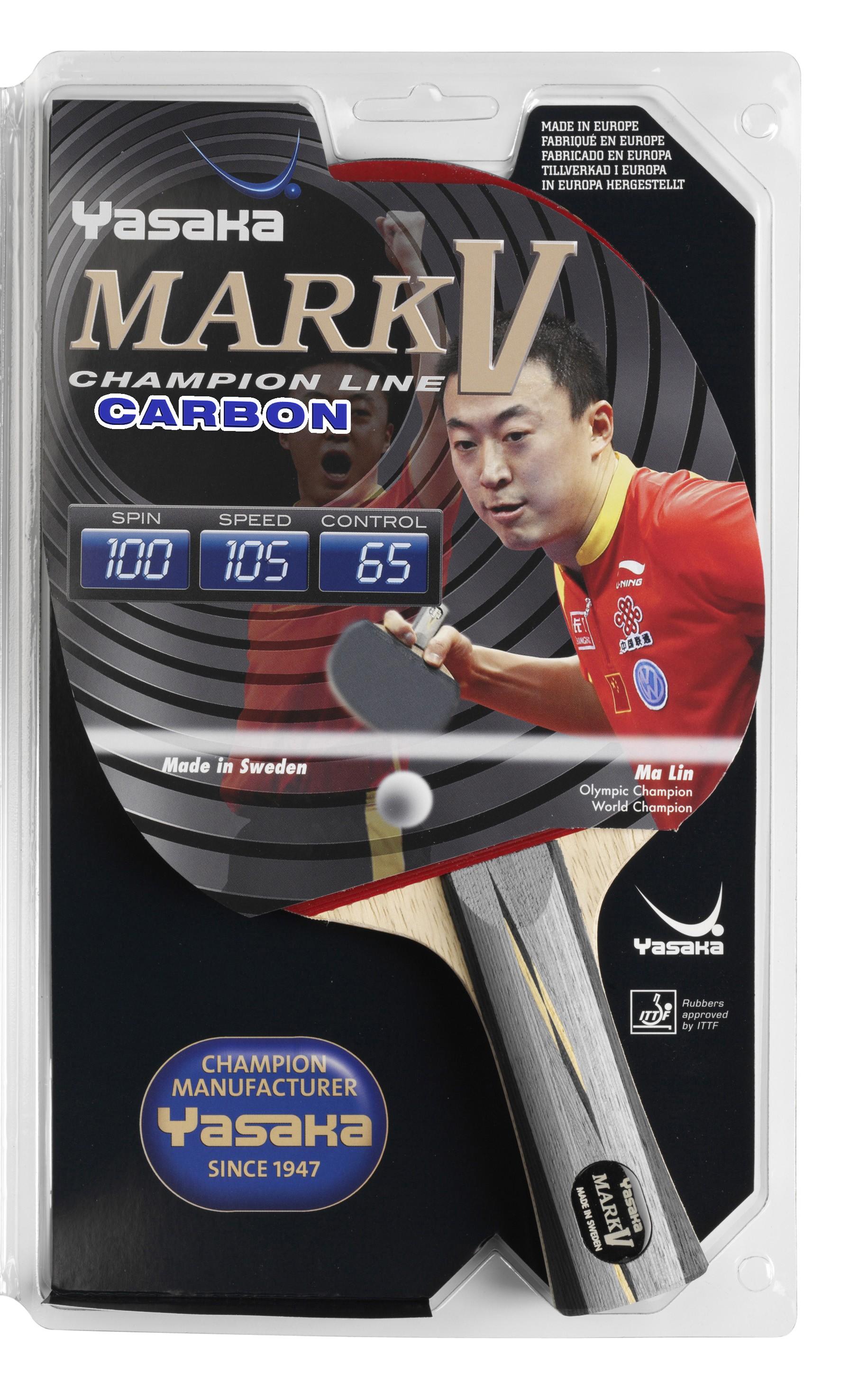 Yasaka Racket Mark V Carbon