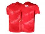 View Table Tennis Clothing Li-Ning T-Shirt National Team AAYN297-3 red
