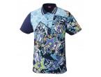 View Table Tennis Clothing Nittaku Shirt Mirabo Navy (2184)