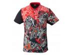 View Table Tennis Clothing Nittaku Shirt Mirabo Red (2184)