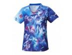 View Table Tennis Clothing Nittaku Sky Crystal Lady Blue (2168)