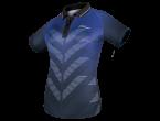 View Table Tennis Clothing Tibhar Shirt Astra Lady blue