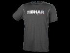 View Table Tennis Clothing Tibhar T-shirt Play black