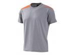 View Table Tennis Clothing Xiom T-shirt Kai Orange/gray