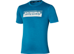Mizuno T-shirt Core Graphic Tee mykonos blue
