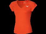 Mizuno T-shirt Lady Tee mandarin red