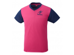View Table Tennis Clothing Nittaku T-shirt VNT-IV Pink (2090)