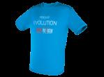 View Table Tennis Clothing Tibhar T-shirt Evolution blue