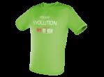 View Table Tennis Clothing Tibhar T-shirt Evolution green