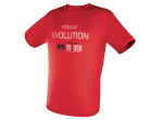 View Table Tennis Clothing Tibhar T-shirt Evolution red
