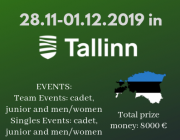 The First Estonian Open