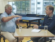 Ferenc Karsai Video Interview Part 5: Are Boosters Good for Table Tennis?