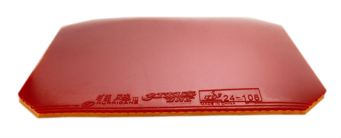 Original DHS Hurricane 8 Table Tennis Rubber Ping Pong rubber 1 RED