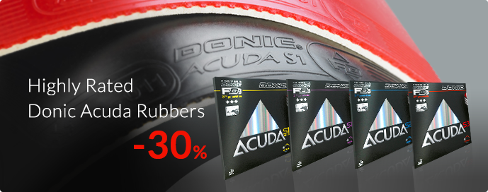 donic acuda s1 s1turbo s2 s3 discounted 30%