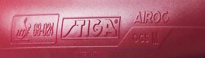 Stiga Airoc M Made in Japan